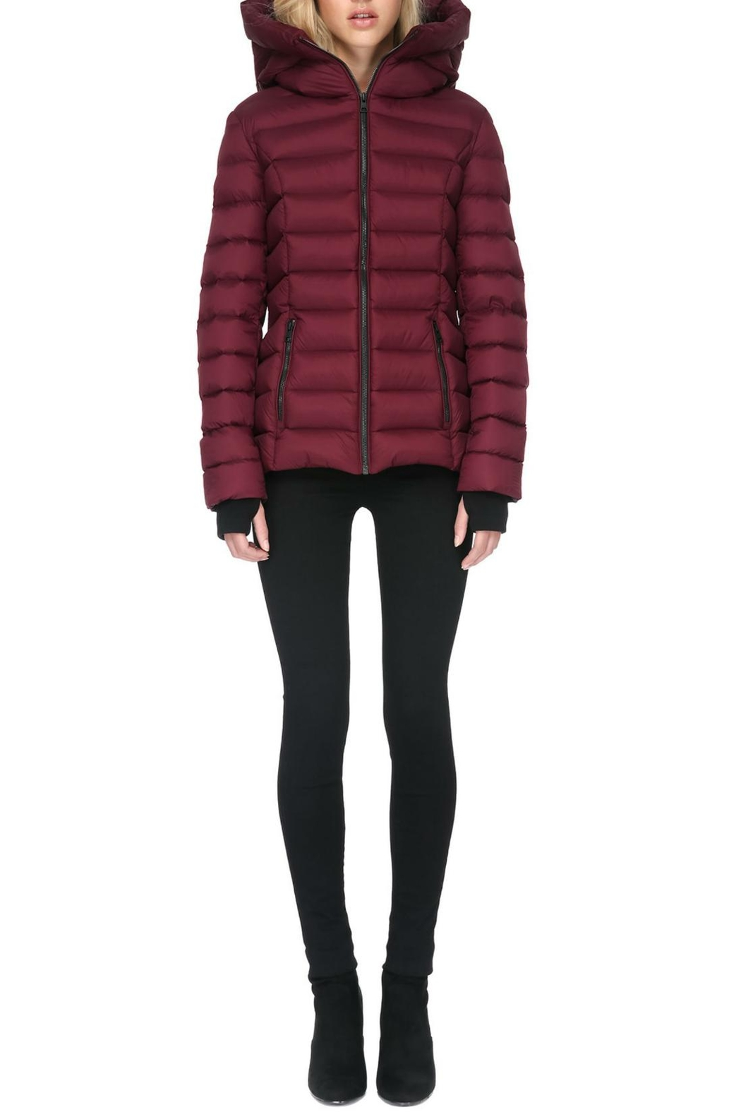 Soia & Kyo Charlise Light Down Jacket - Front Cropped Image