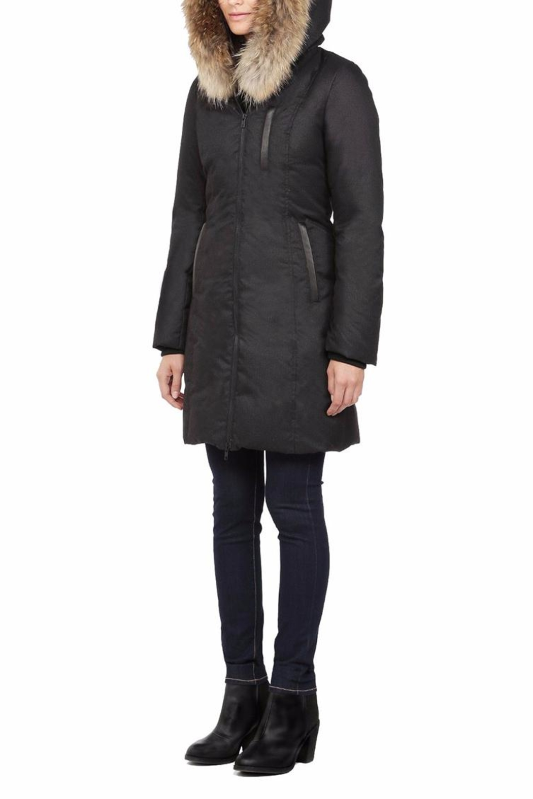 Soia & Kyo Chrissy Down Coat - Front Full Image