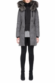 Soia & Kyo Chrissy Down Coat - Back cropped