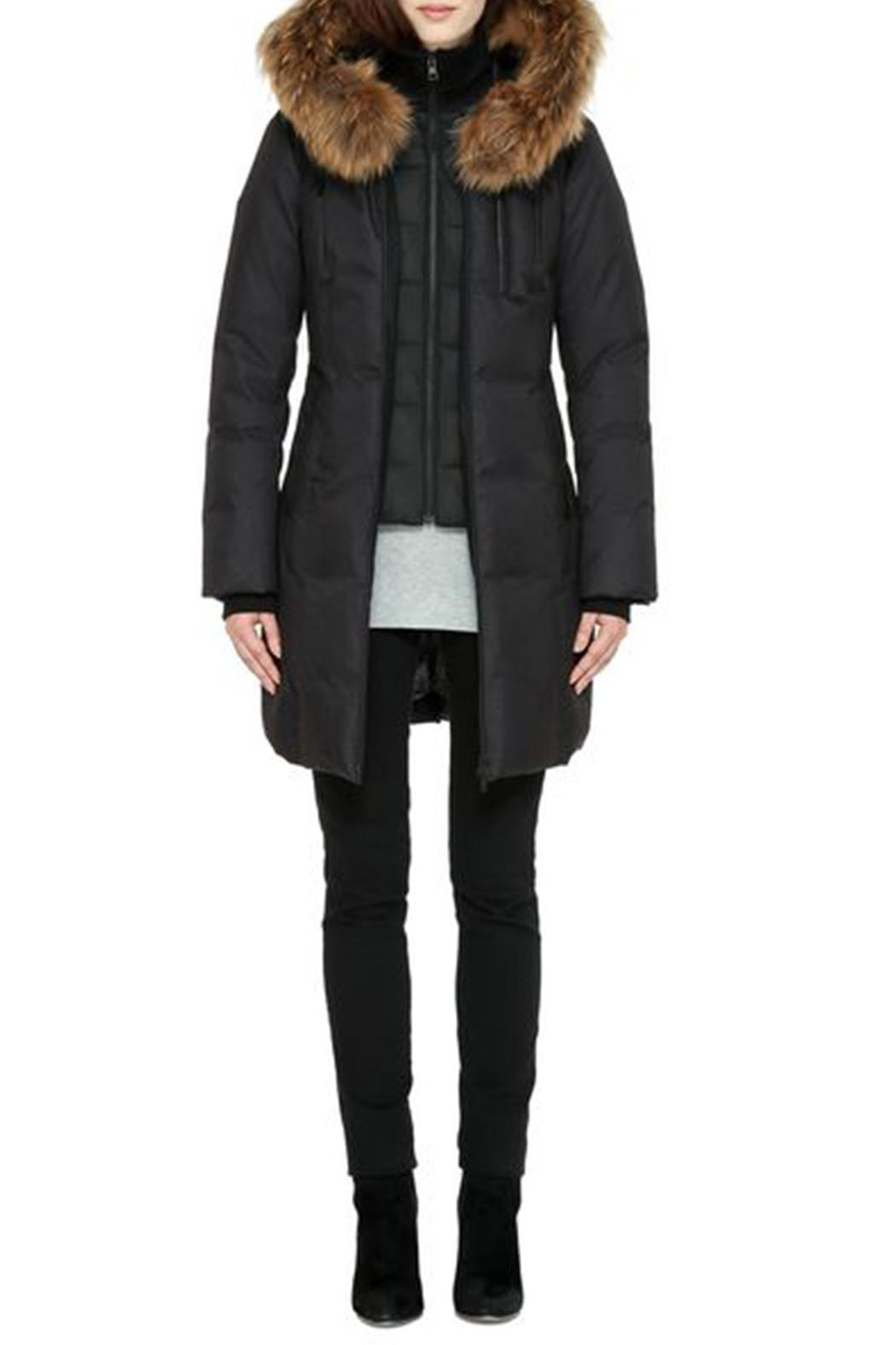 Soia & Kyo Chrissy Down Coat - Back Cropped Image