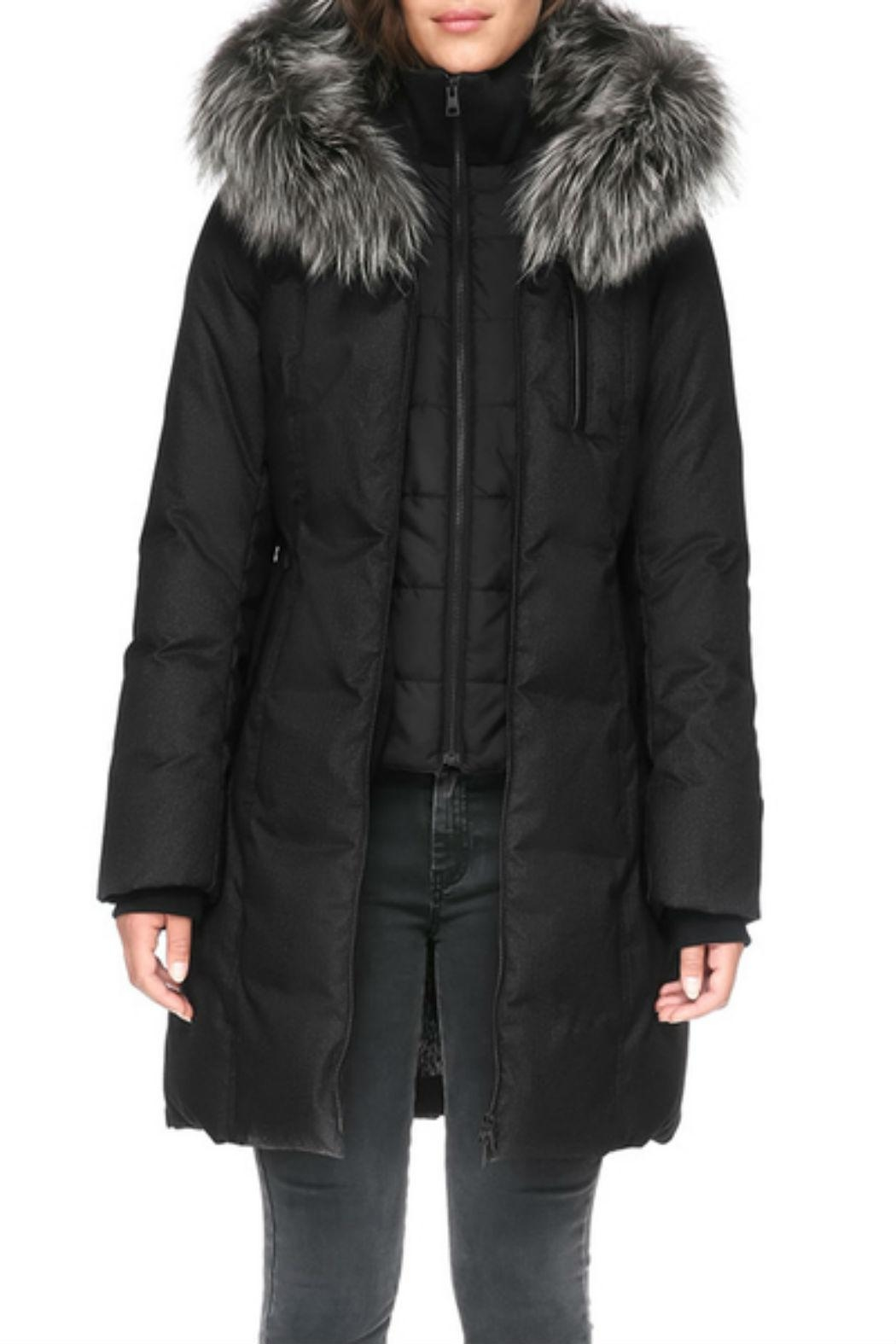 Soia & Kyo Chrissy-Fx Down Coat - Front Full Image