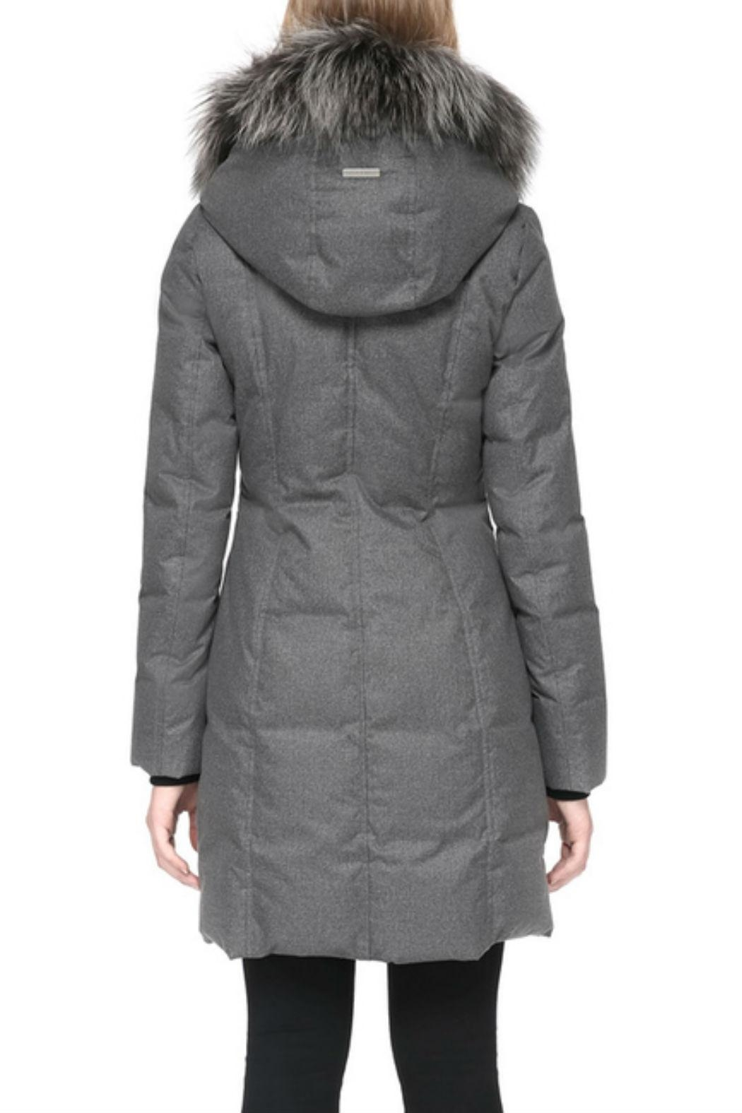 Soia & Kyo Chrissy-Fx Down Coat - Back Cropped Image