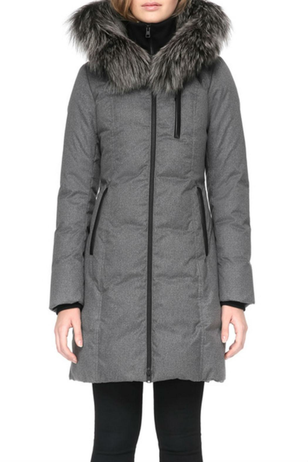 Soia & Kyo Chrissy-Fx Down Coat - Front Cropped Image