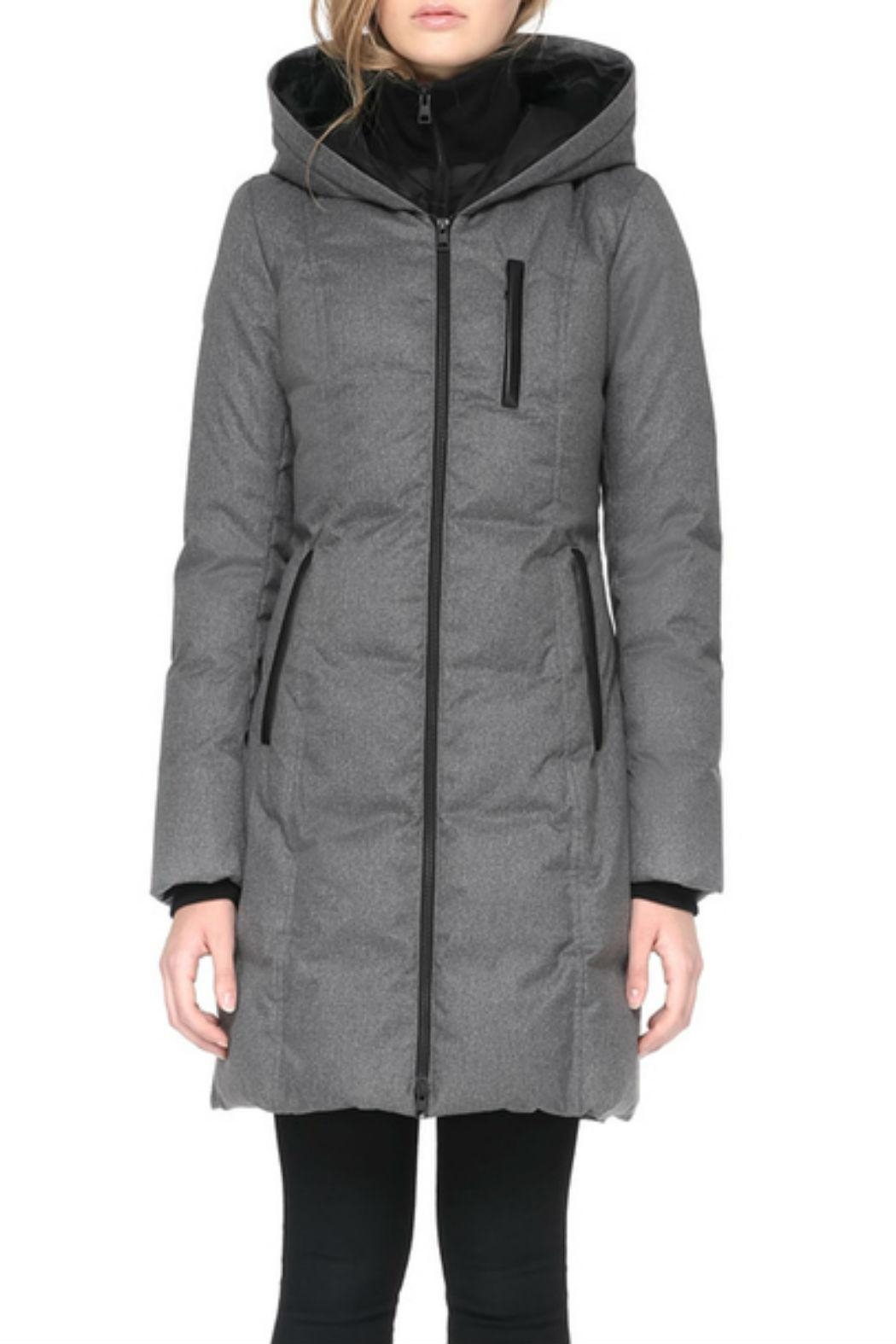 Soia & Kyo Chrissy-Fx Down Coat - Side Cropped Image
