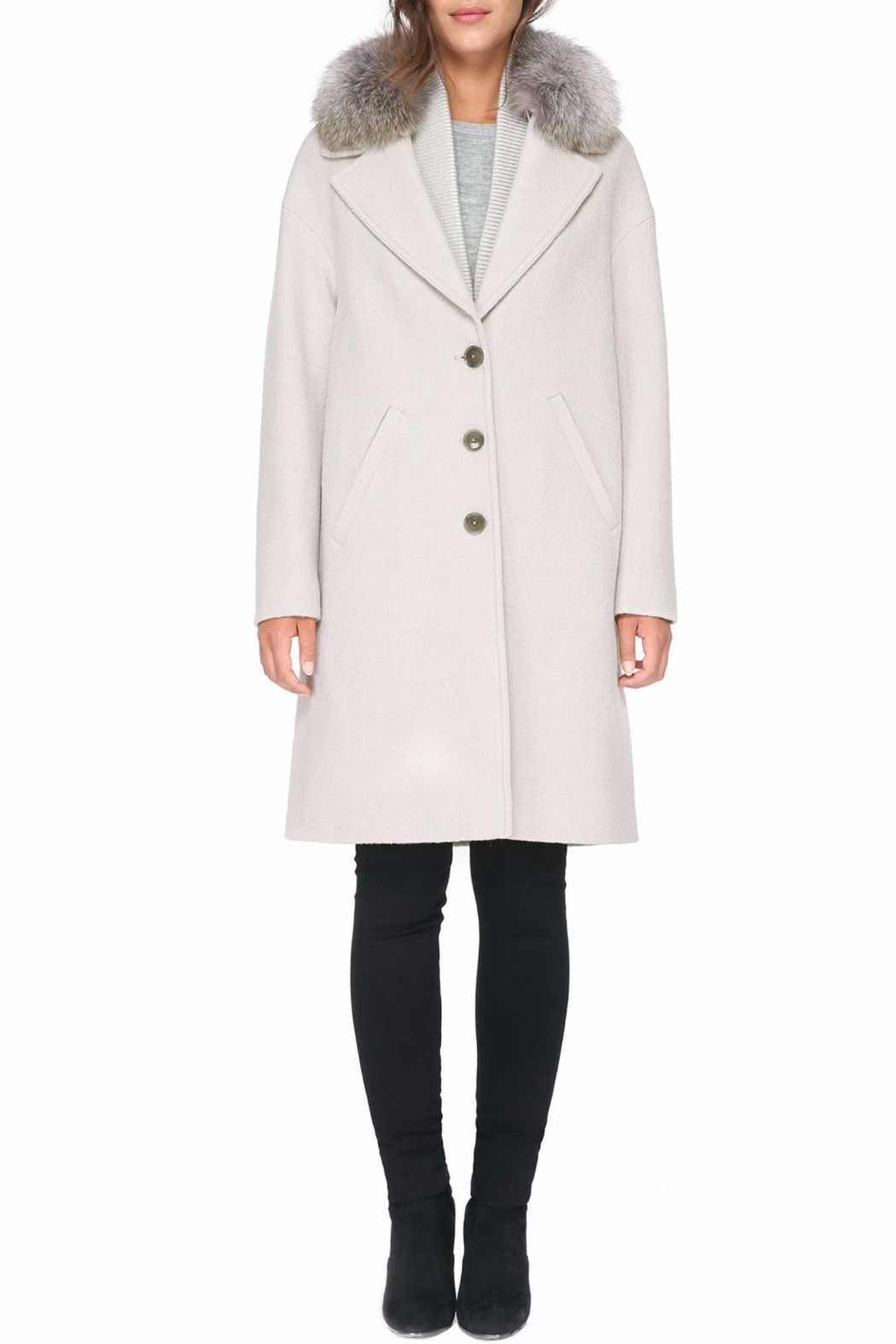 Soia & Kyo Christelle Fx Wool Coat - Main Image