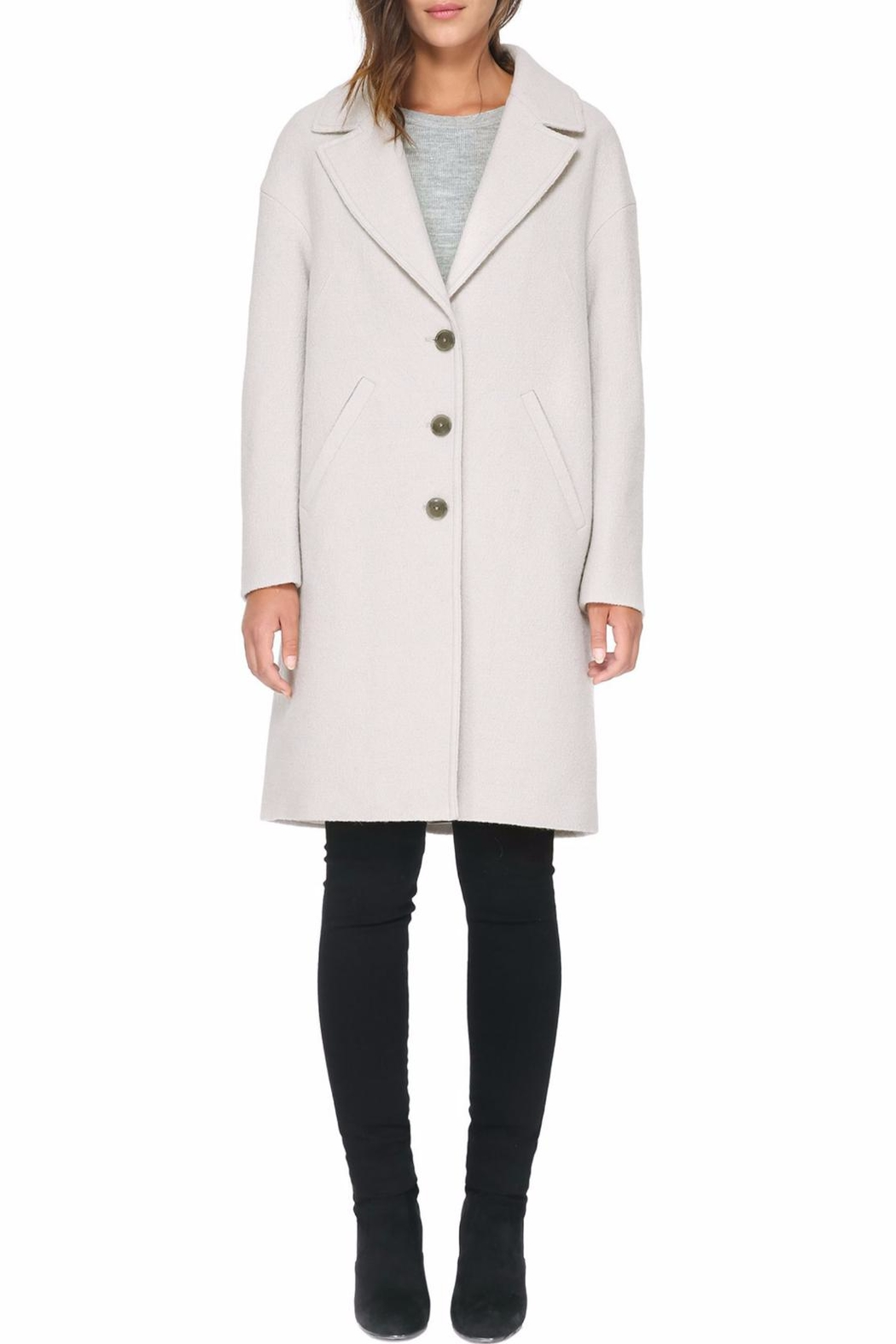Soia & Kyo Christelle Fx Wool Coat - Back Cropped Image