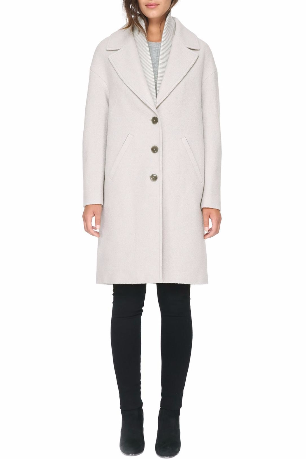 Soia & Kyo Christelle Fx Wool Coat - Side Cropped Image