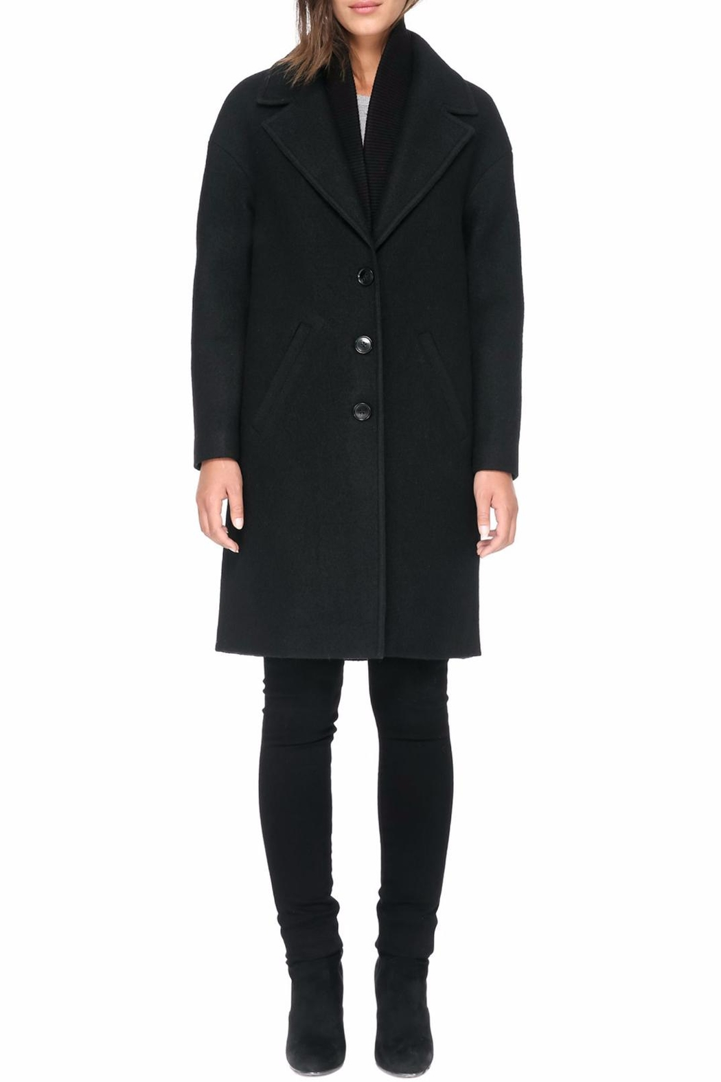 Soia & Kyo Christelle R Wool Coat - Side Cropped Image