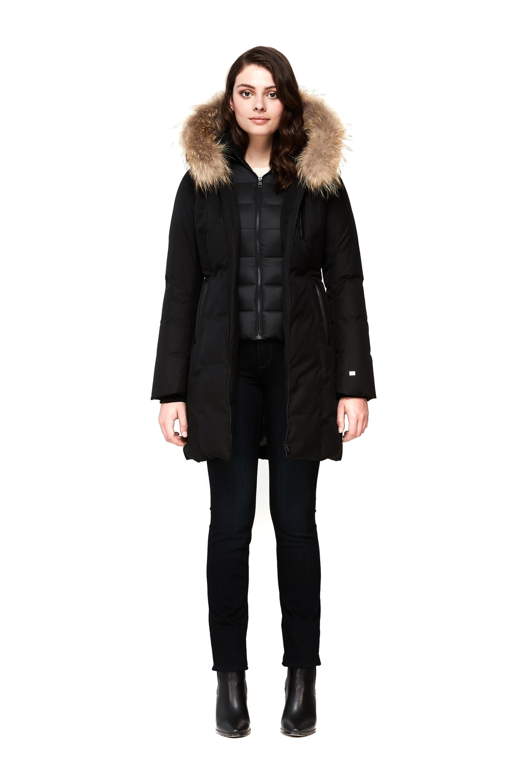 Soia & Kyo Christy-N Down Coat - Front Full Image