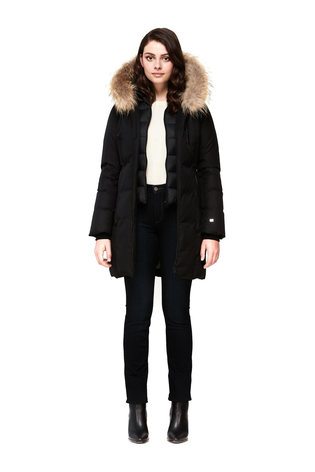 Soia & Kyo Christy-N Down Coat - Side Cropped Image