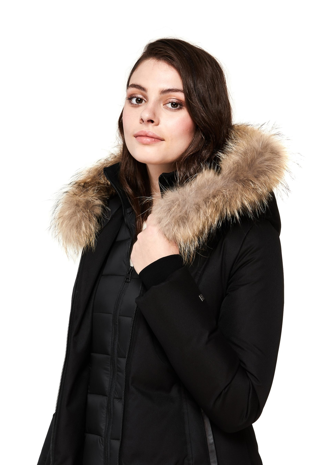 Soia & Kyo Christy-N Down Coat - Back Cropped Image