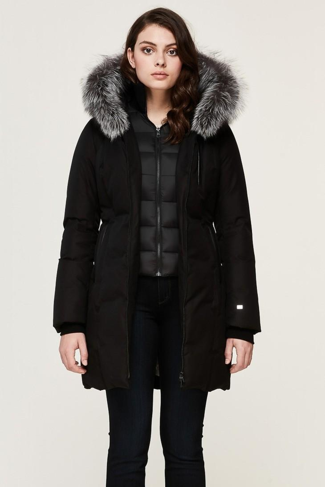 Soia & Kyo Christy-Xn Down Coat - Front Full Image