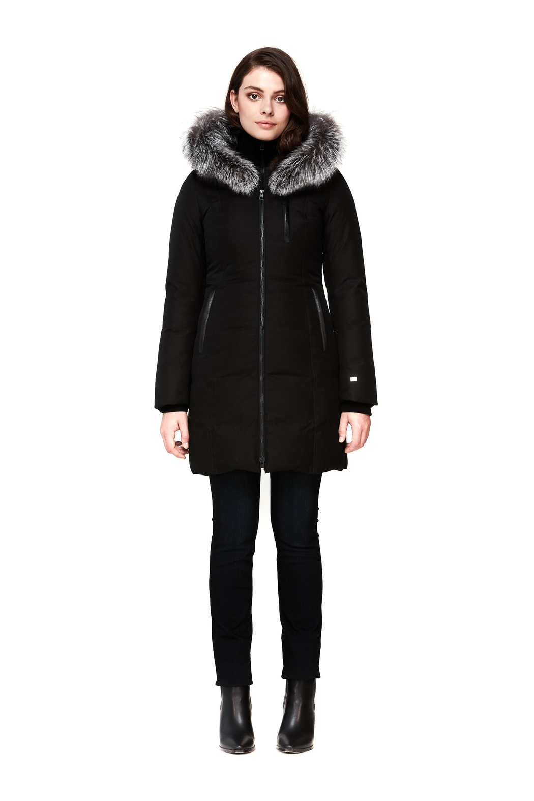 Soia & Kyo Christy-Xn Down Coat - Front Cropped Image