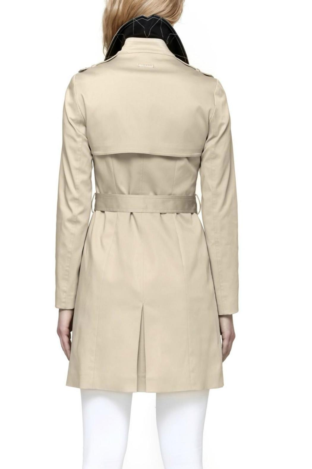 Soia & Kyo Classic Trench Coat - Front Full Image