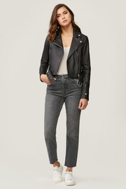 Soia & Kyo Clodia Leather Jacket - Front full body