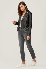 Soia & Kyo Clodia Leather Jacket - Back cropped