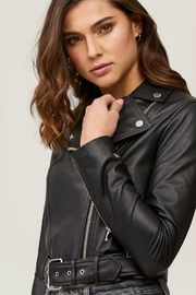 Soia & Kyo Clodia Leather Jacket - Side cropped