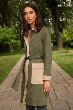 Shoptiques Product: Colour Blocked Marni Trench