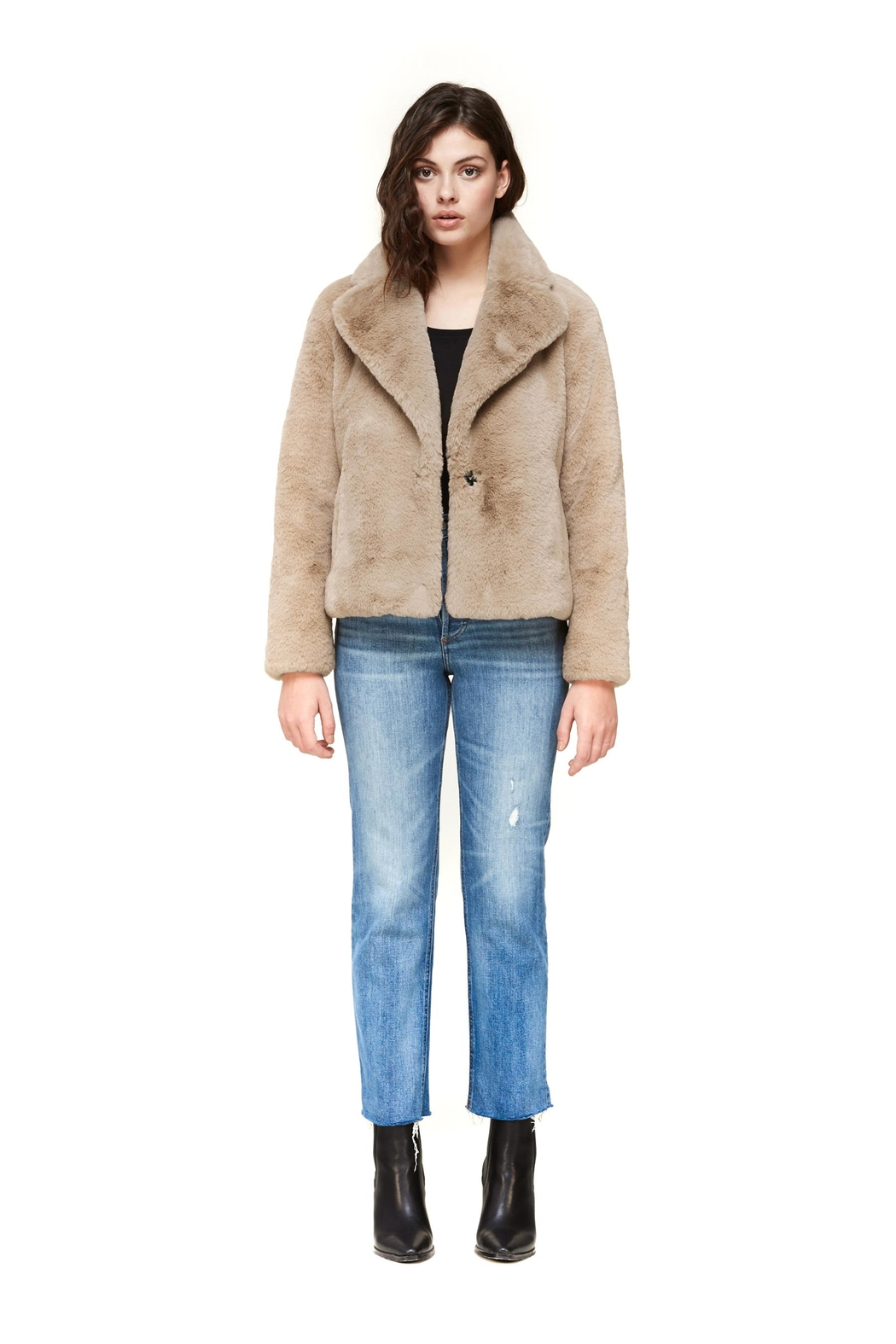 Soia & Kyo Emanuela Relaxed-Fit Jacket - Front Full Image