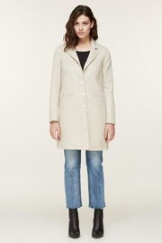 Soia & Kyo Ezme-P Ladies Long Wool Coat - Product Mini Image