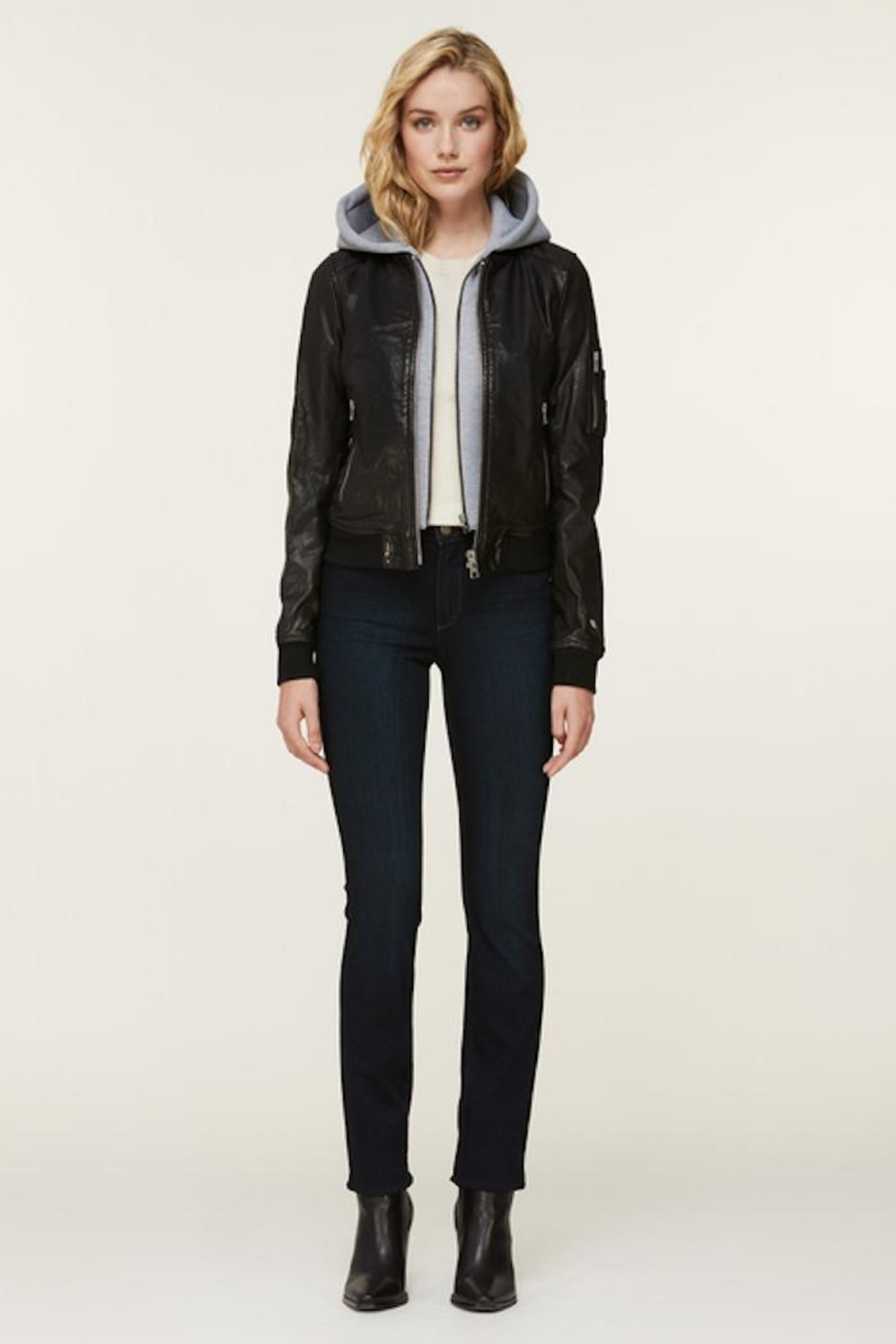 Soia & Kyo Farica-N Leather Jacket - Main Image