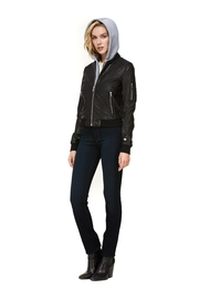 Soia & Kyo Farica-N Leather Jacket - Back cropped