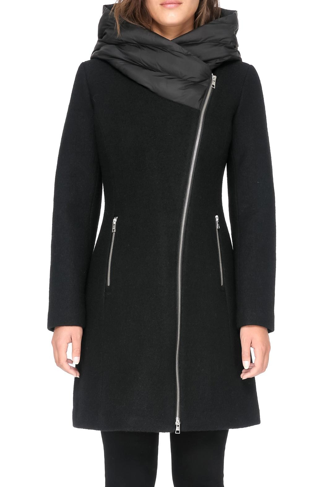 Soia & Kyo Florina Wool Coat - Side Cropped Image