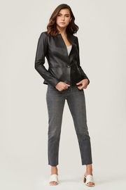 Soia & Kyo Genevieve Leather Jacket - Front full body
