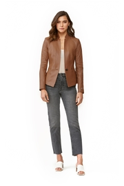 Soia & Kyo Genevieve Leather Jacket - Front cropped