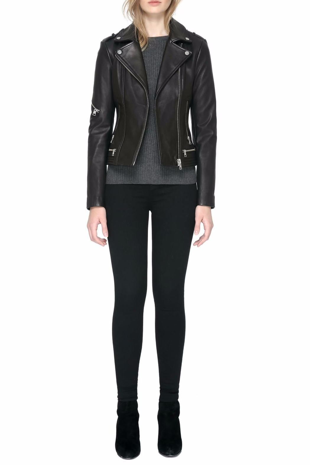 Soia & Kyo Jasmina Leather Jacket - Main Image