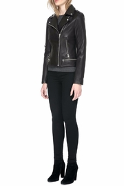 Soia & Kyo Jasmina Leather Jacket - Side cropped