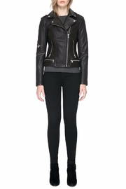 Soia & Kyo Jasmina Leather Jacket - Front full body