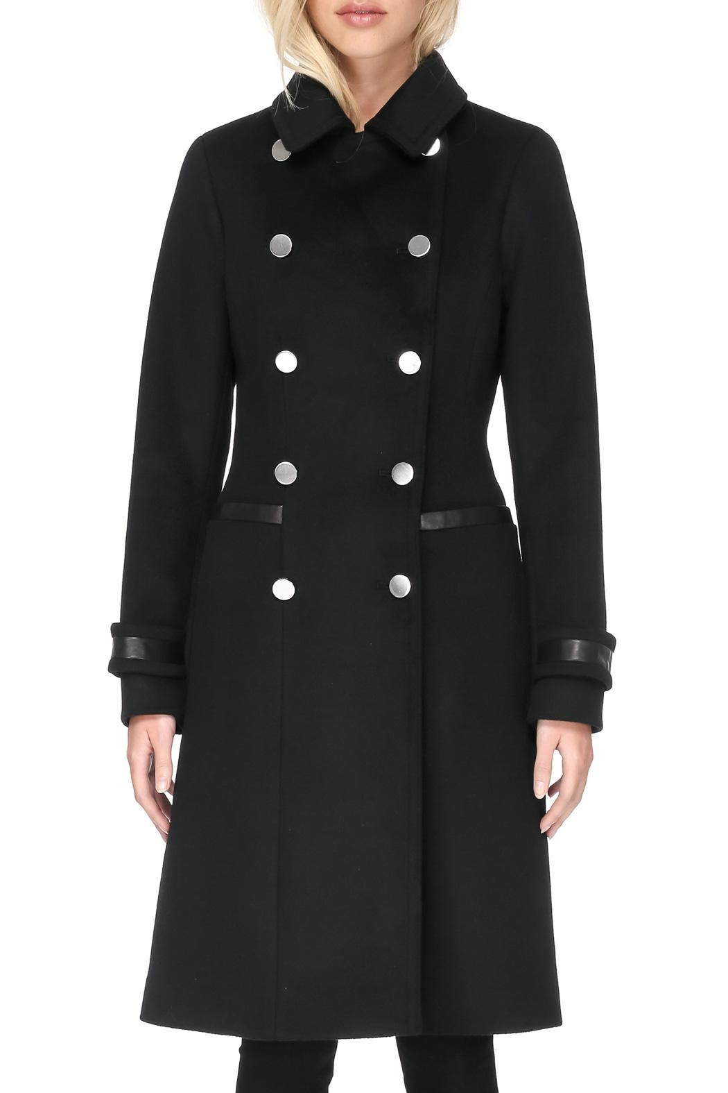 Soia & Kyo Julianna Wool Coat - Side Cropped Image
