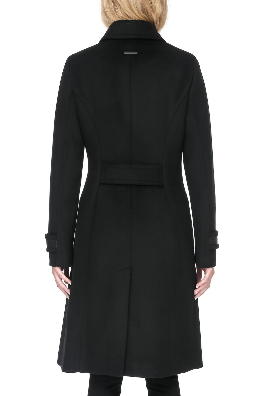 Soia & Kyo Julianna Wool Coat - Back Cropped Image