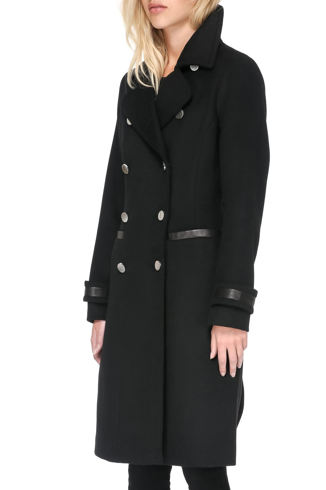 Soia & Kyo Julianna Wool Coat - Front Full Image
