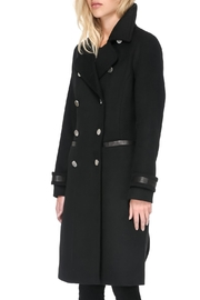 Soia & Kyo Julianna Wool Coat - Front full body