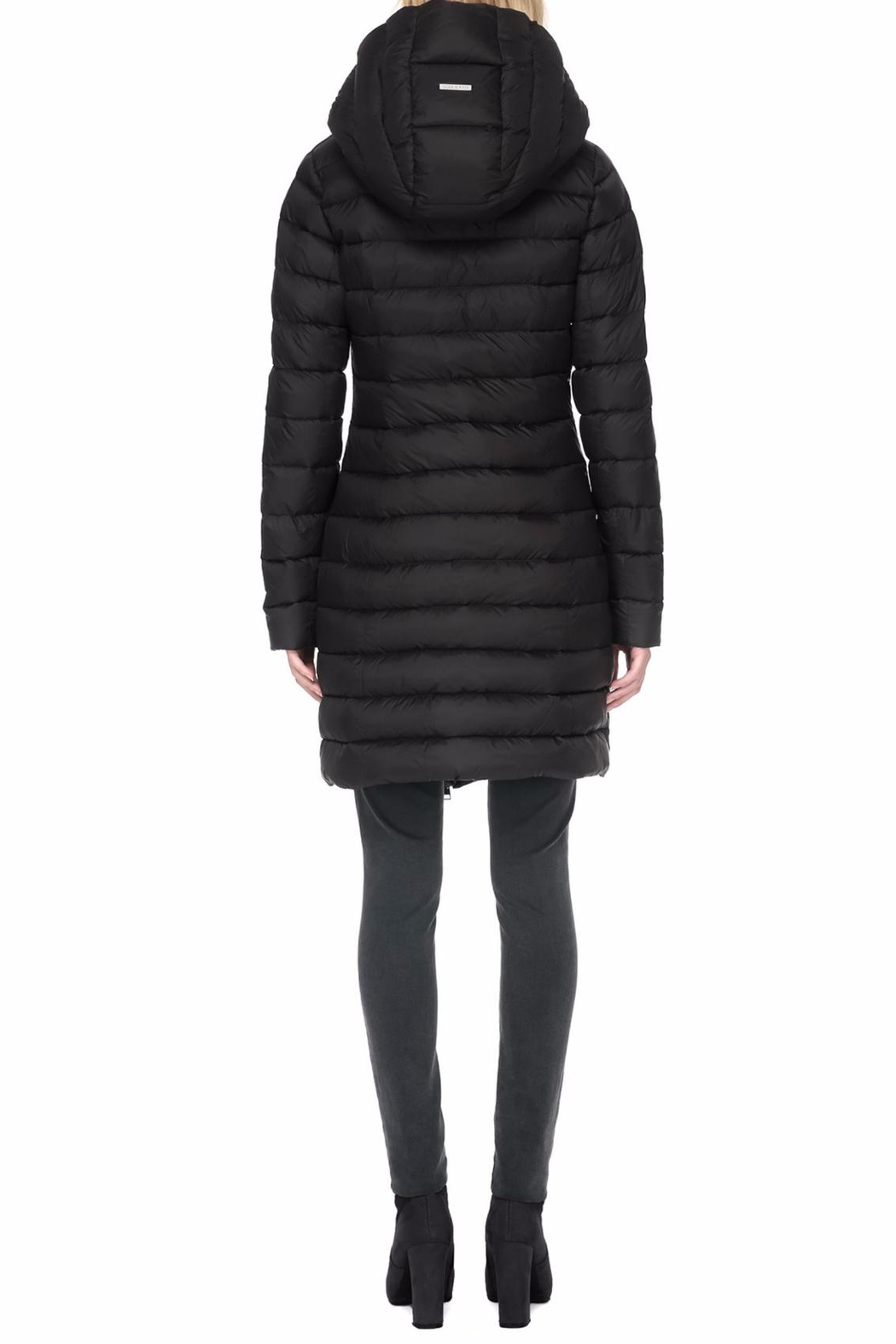 Soia & Kyo Karelle Light Down Coat - Side Cropped Image