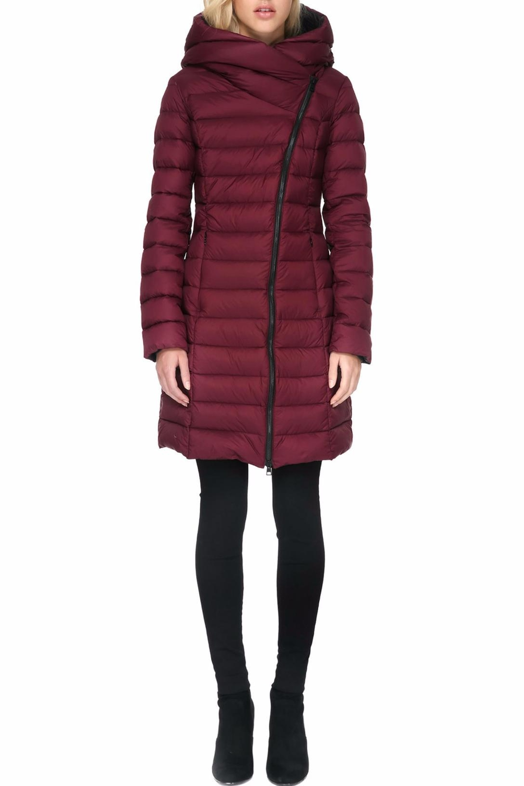 Soia & Kyo Karelle Light Down Coat - Front Cropped Image