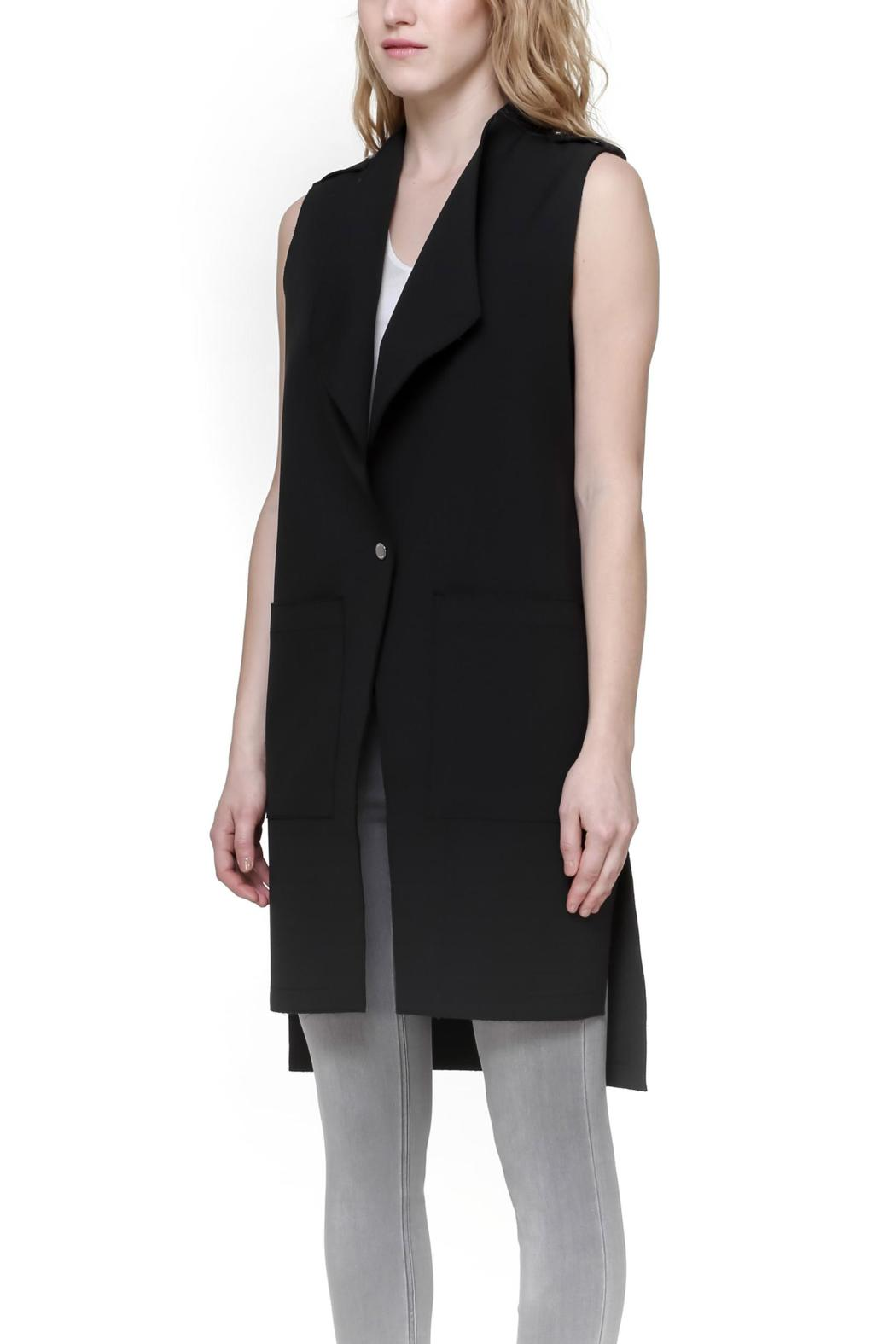 Soia & Kyo Kathryn Sleevless Vest - Side Cropped Image