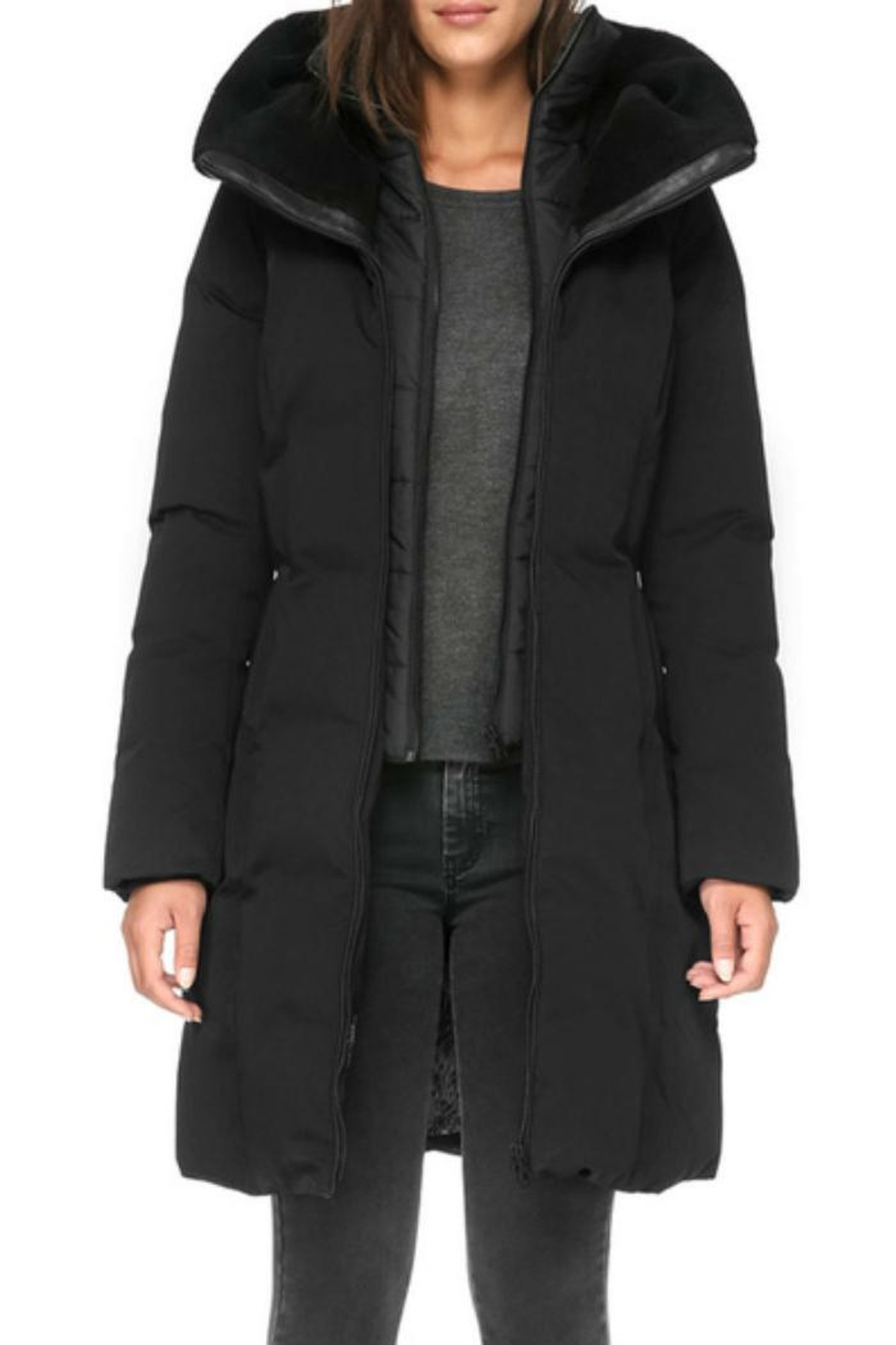 Soia & Kyo Katlin Down Coat - Side Cropped Image