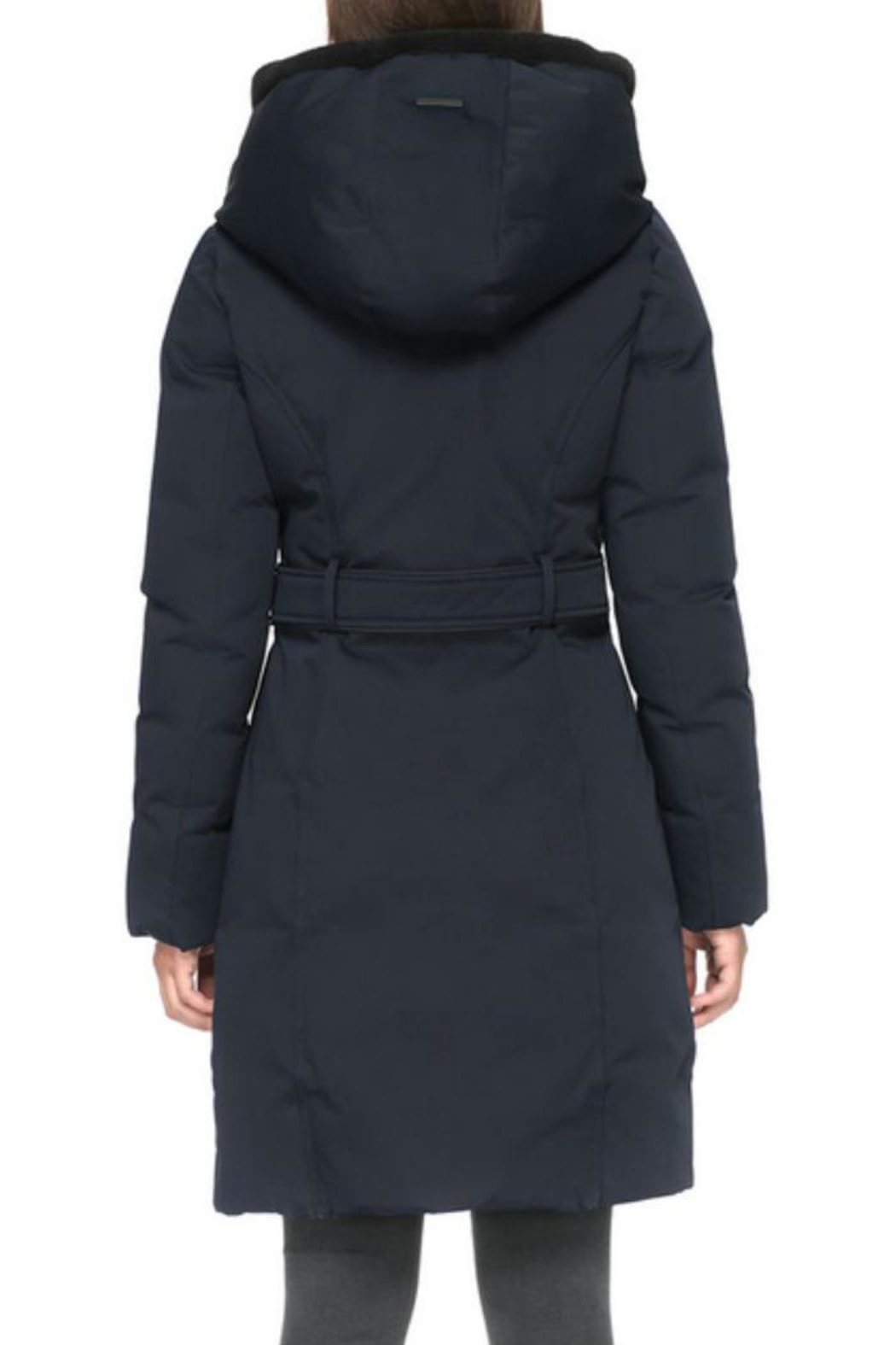 Soia & Kyo Katlin Down Coat - Back Cropped Image