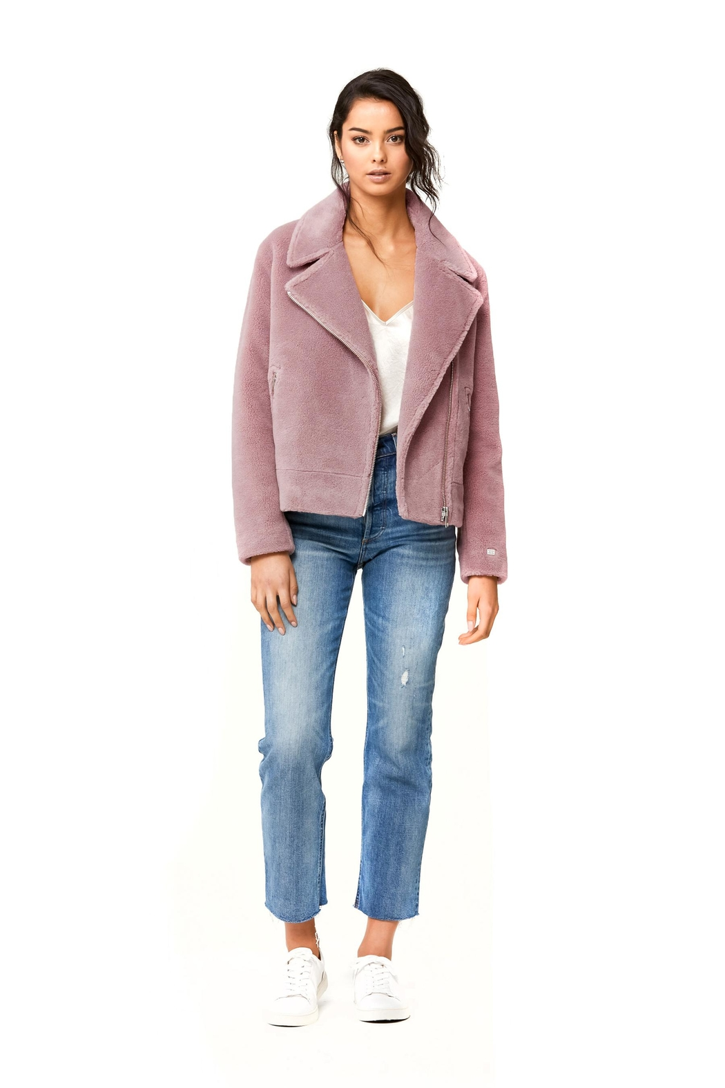 Soia & Kyo Laure Sherpa Jacket - Front Full Image