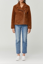 Soia & Kyo Laure Sherpa Jacket - Front cropped