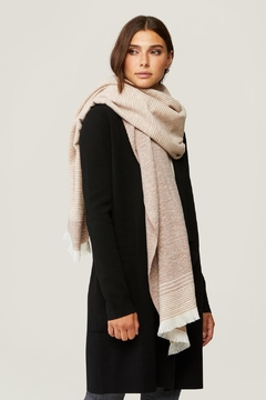 Soia & Kyo Louvain Two-Tone Scarf/wrap - Product List Image