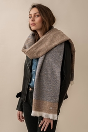 Soia & Kyo Louvain Two-Tone Scarf/wrap - Product Mini Image