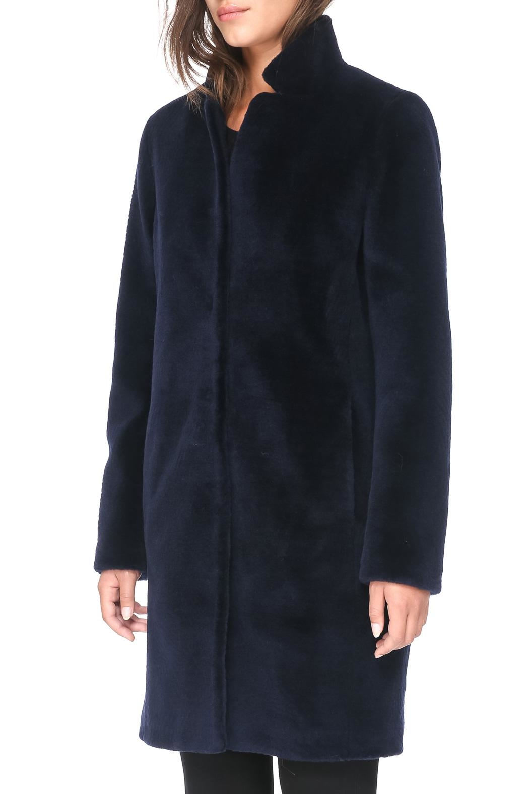 Soia & Kyo Marceline Wool Coat - Side Cropped Image