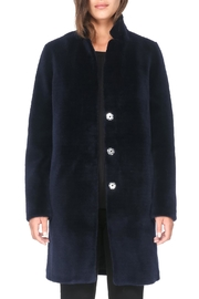 Soia & Kyo Marceline Wool Coat - Front cropped