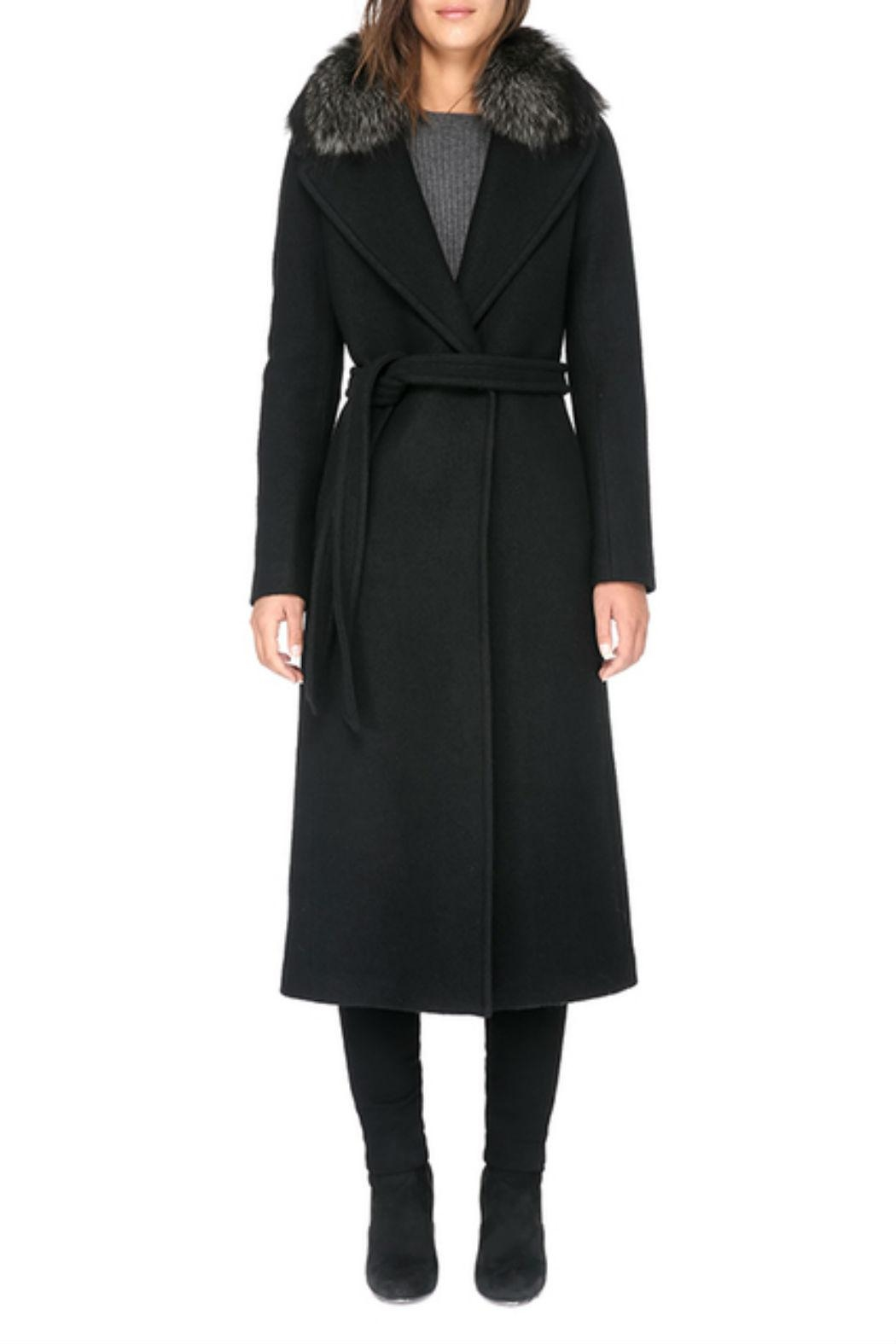 Soia & Kyo Marlene-Fx Wool Coat - Front Cropped Image