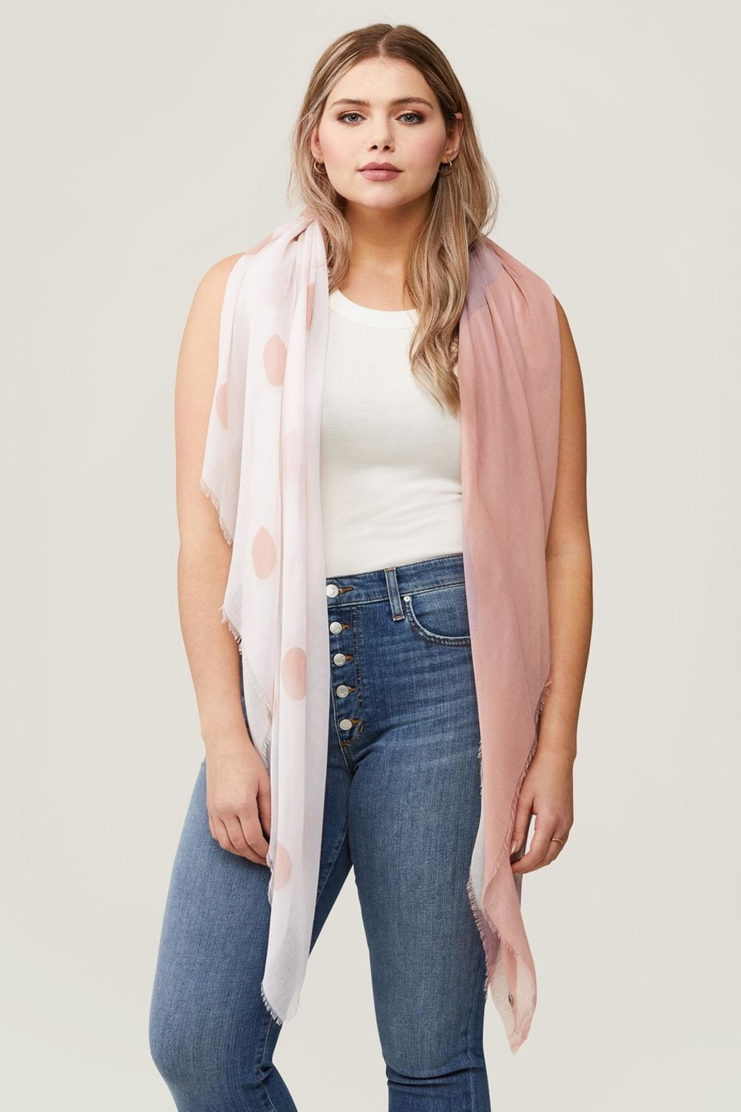 Soia & Kyo Marta Dot Scarf - Side Cropped Image