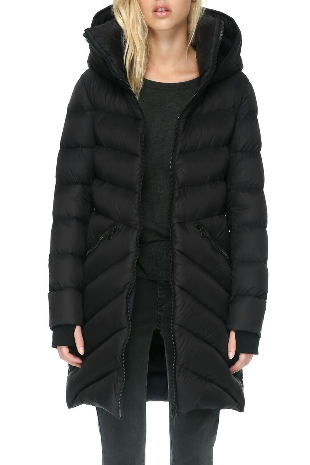 Soia & Kyo Monia Down Coat - Front Cropped Image